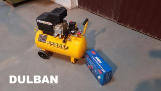Kompresor olejowy, tłokowy, sprężarka Viber-System K50