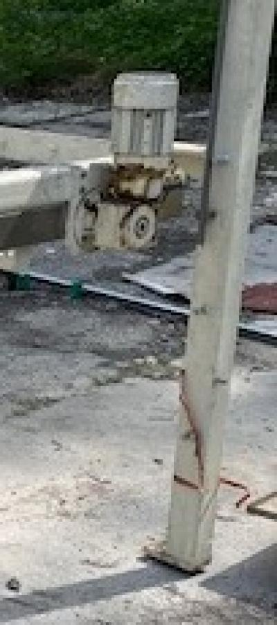 Odbiornik elementów, stół talerzykowy 1300 mm